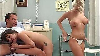 Katie Morgan and Kaiya Lynn in Hospital Threesome - Punk'd / Grey's Anatomy Parody
